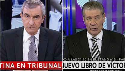 Nelson Castro vs Victor Hugo Morales