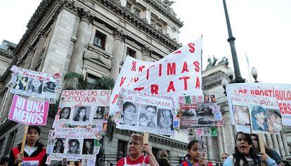 Reclamo. Sólo en el mes de abril, en la Argentina hubo 21 mujeres muertas por violencia de género.