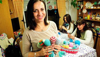 En acción. Gabriela Strólogo, una de las impulsoras del proyecto que comenzó en el Penna.