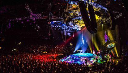 Impacto visual. El Cirque du Soleil, con tributo a Soda Stereo, superó las 400 mil entradas vendidas.