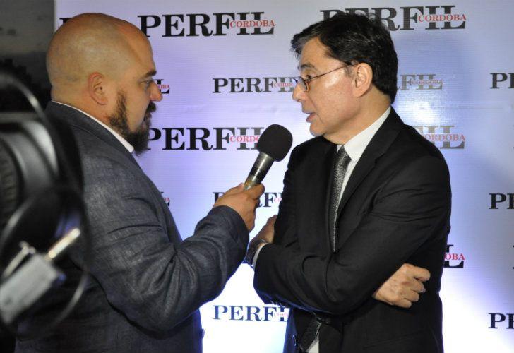 Jorge Fontevecchia entrevistado en la presentación del Diario Perfil Córdoba