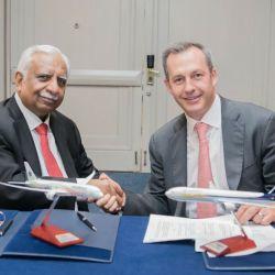 Firma Acuerdo Aeroméxico y Jet Airways (2)