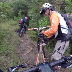 bajando sillin para descenso