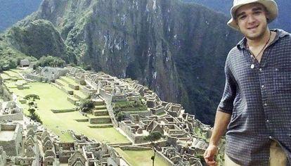 Perdido. Federico Farías desapareció hace un mes en Perú.