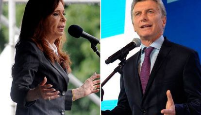 Cristina Kirchner y Macri