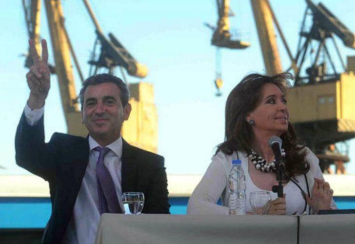 Florencio Randazzo y Cristina Kirchner