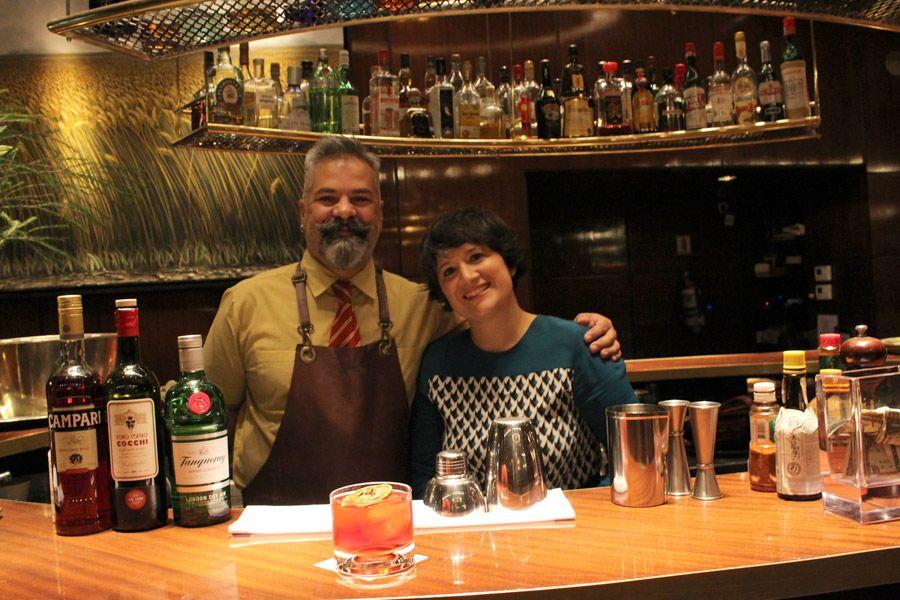 Paulina con Pablo Pignatta