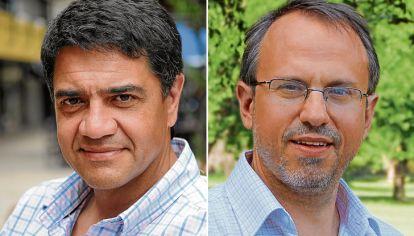 Jorge Macri y Diego Valenzuela