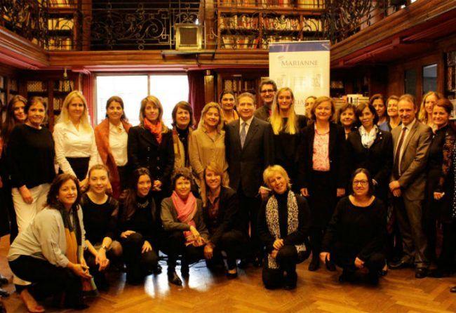 Feminismo y poder, uno de los tema de la charla.