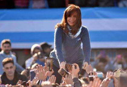 Cristina Fernández de Kirchner en Arsenal