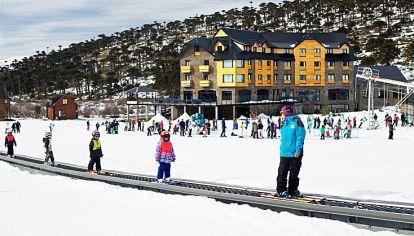 Pistas. Las intensas nevadas favorecen a los centros de esquí.
