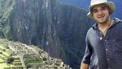 Tragedia. Federico Farías (21) estuvo desaparecido un mes.