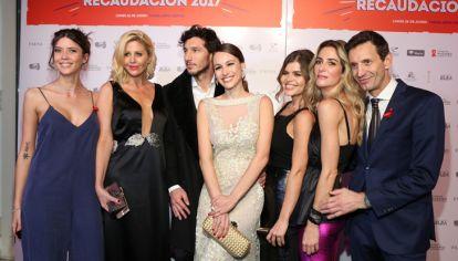 El equipo de Pampita Online en la cena anual de la Fundación Huésped