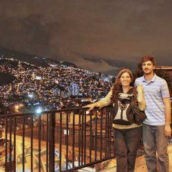 En la comuna 13 - Medellin - Colombia