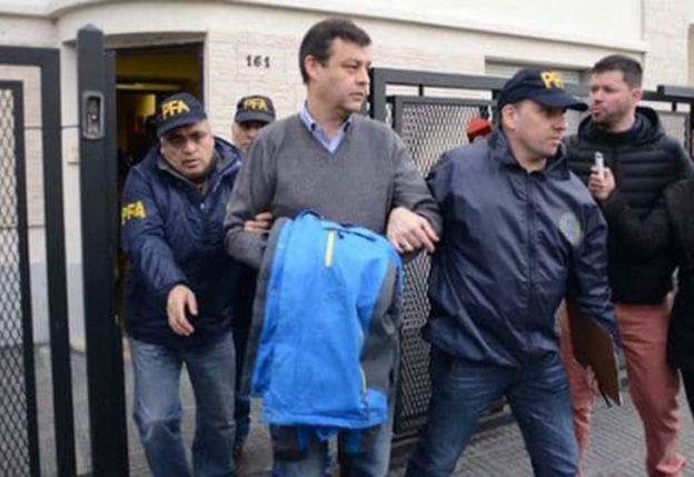 Manzanares fue trasladado al penal de Marcos Paz