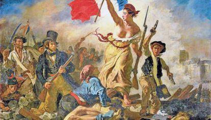 Delacroix. La libertad guiando al pueblo, de 1830, además de ser un símbolo del romanticismo pictórico, puso imágenes concretas a una idea muchas veces abstracta.