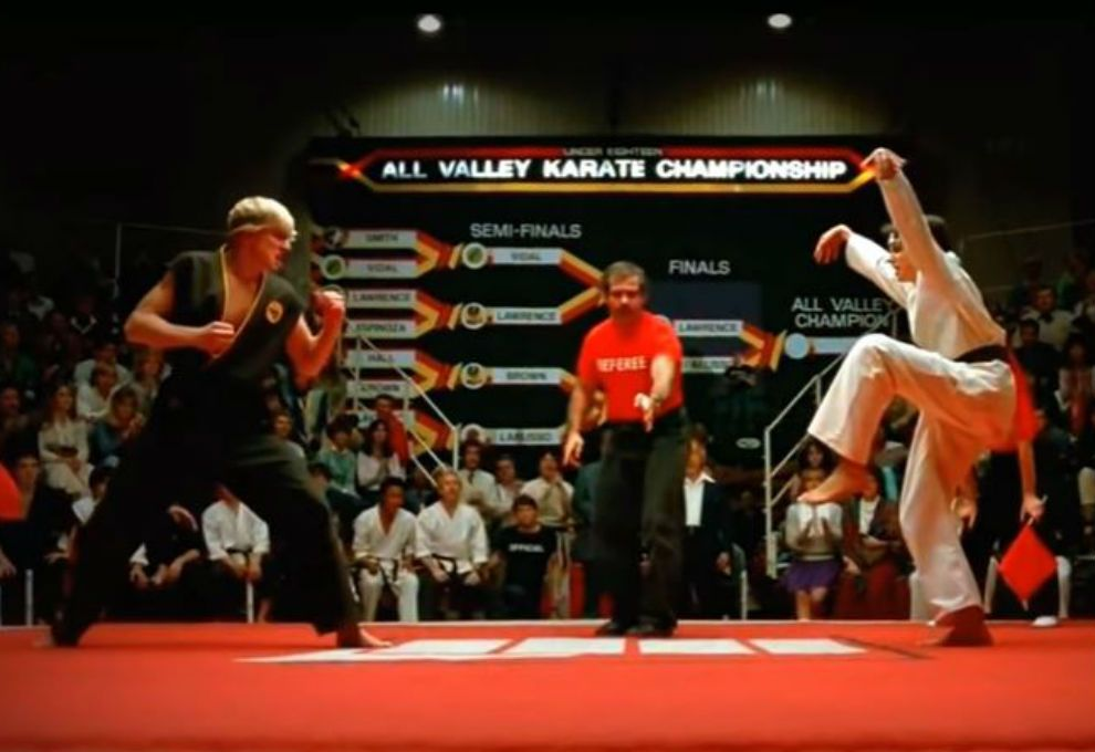 karate kid-Ralph Macchio-William Zabka