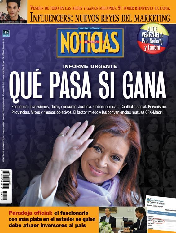 Qu pasa si gana cristina kirchner revista noticias for Revista primicias ya hoy
