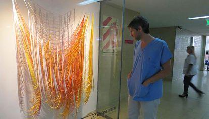 Itinerante. El colectivo Museo Urbano va mudando las obras.