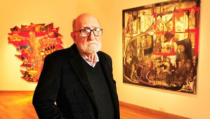 Noé, maestro del arte argentino, en la muestra actual del Museo Nacional de Bellas Artes.