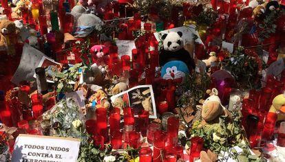 Los espacios memoriales de Barcelona que surgieron tras el atentado terrorista