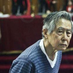 Alberto Fujimori, Keiko's father, recovers from a heart failure.