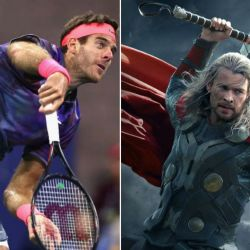Juan Martin Del Potro-Chris Hemsworth
