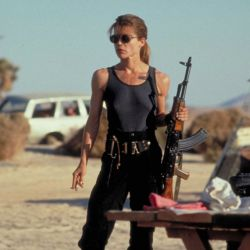 Linda Hamilton-Terminator 2
