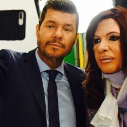 marcelo tinelli-cristina kirchner-martin bossi-entrevista