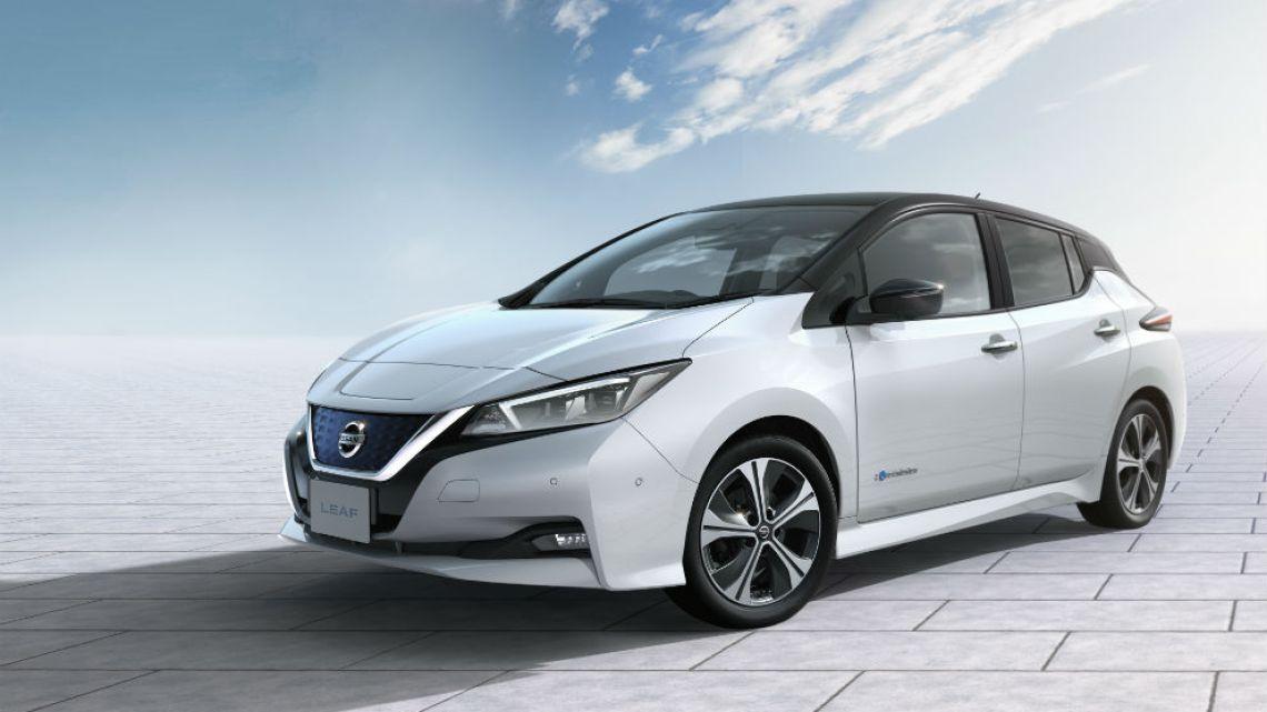 Nissan leaf 2019 precio