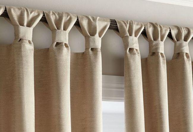 Las cortinas m s elegidas para armonizar la decoraci n del for Estilos de cortinas