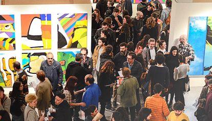 Apertura y respuesta. La inauguración se realizó en el Centro Cultural de España. Colmado.