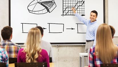 Gráfico. La crisis de 2007 fue atribuida, en parte, a la escasa formación de profesionales que no pudieron predecir riesgos. Es importante apostar por una mejor formación.