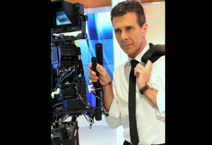 Alejandro Isturiz fue periodista de Telefe Noticias durante 22 años.