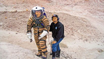 Experto. Pablo de León desarrolló con un subsidio de la NASA dos trajes espaciales. Los prototipos superaron rigurosas pruebas en EE.UU. y la Base Marambio.