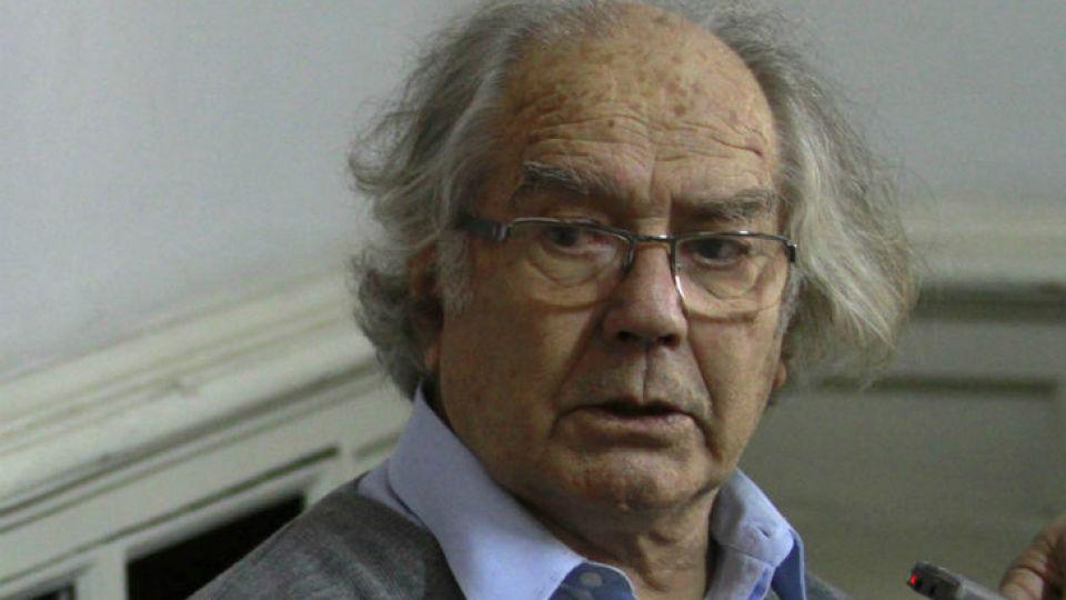 El premio Nobel de la Paz 1980, Adolfo Pérez Esquivel.