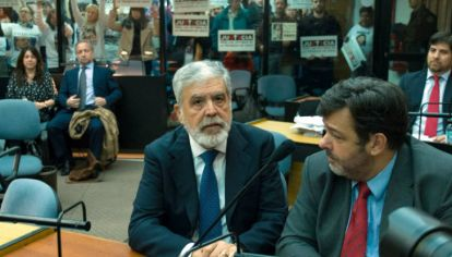 De Vido enfrenta el juicio oral y público por la Tragedia de Once.