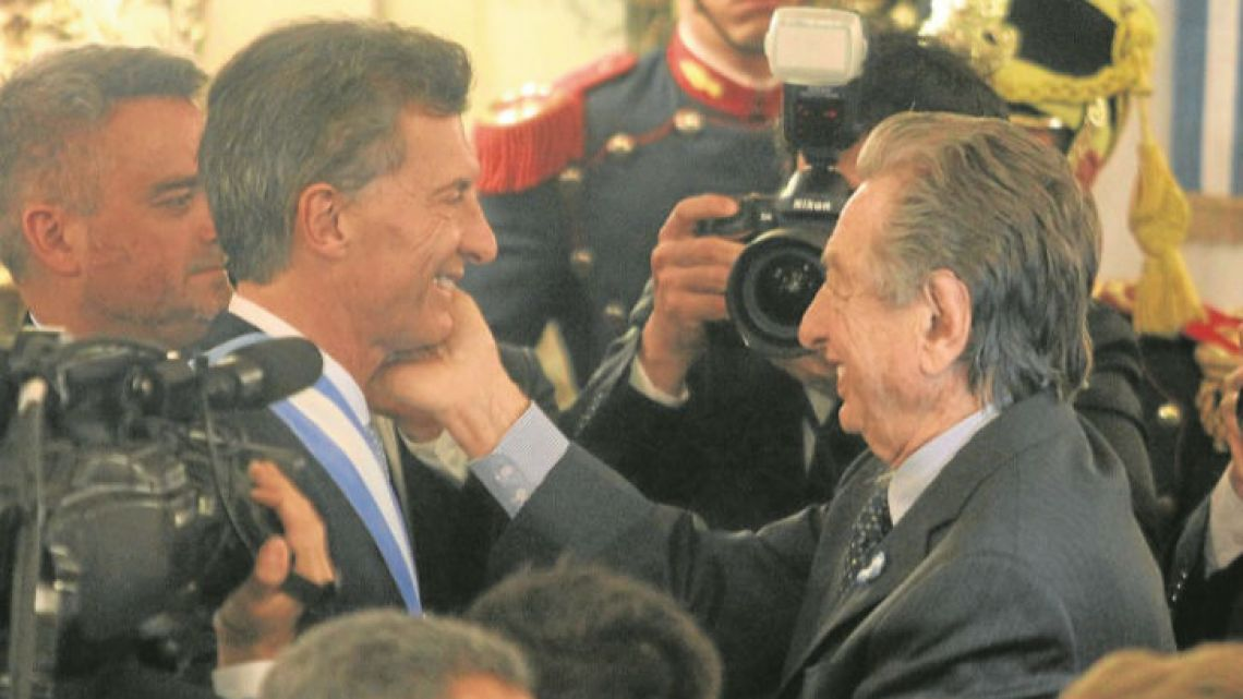 Italian family-owned firm Ghella has built a presence in Argentina, thanks in large part of to its proximity to President Mauricio Macri (left) and his father, Franco Macri (right).