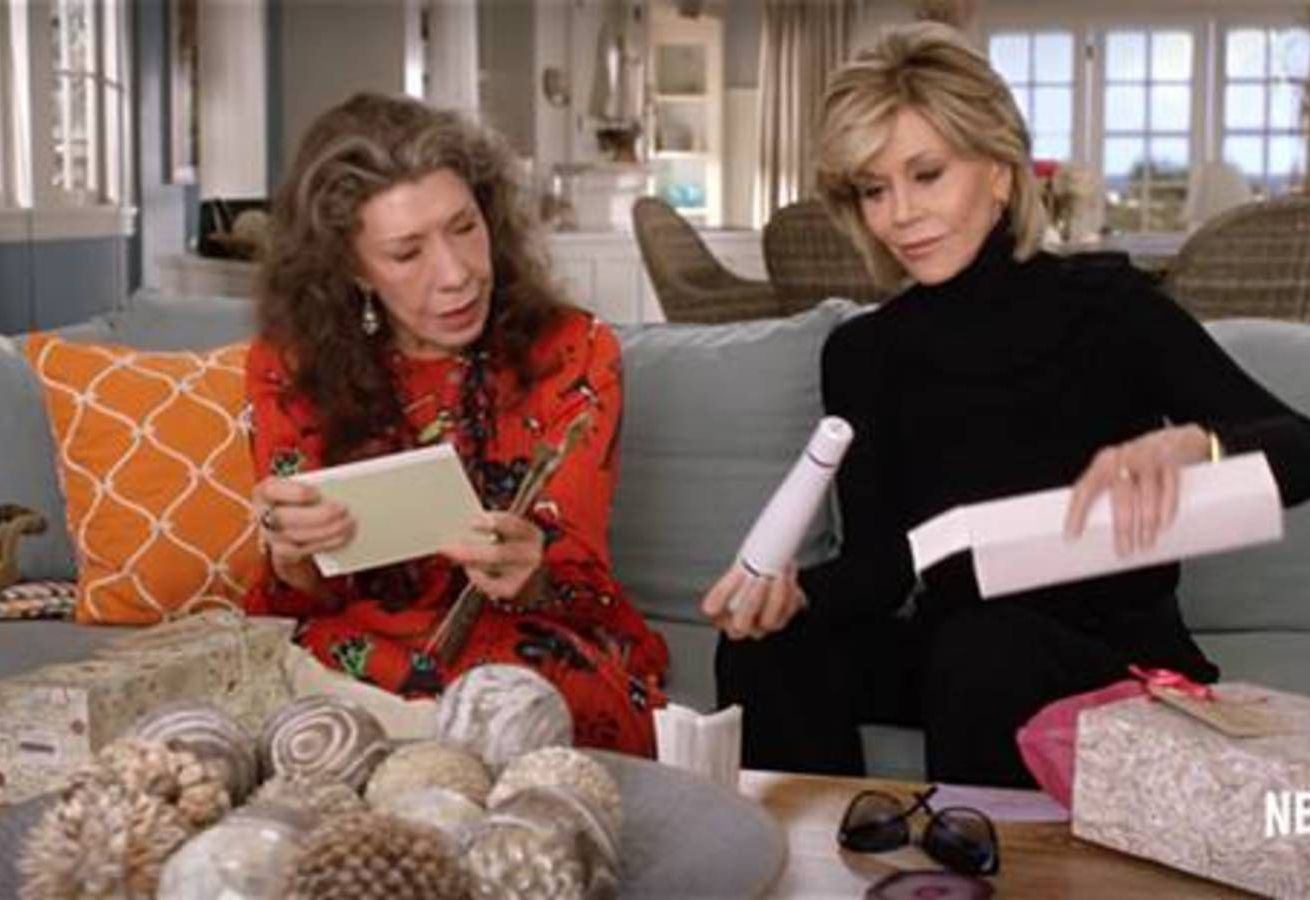 12) Grace and Frankie