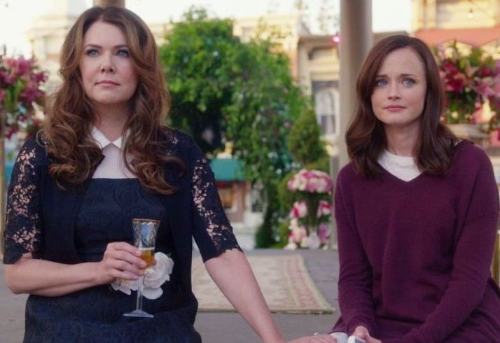 4) Gilmore Girls: A year in the life