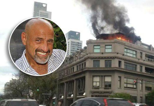 Se incendió el departamento de Gustavo Sofovich, en el Palacio Alcorta