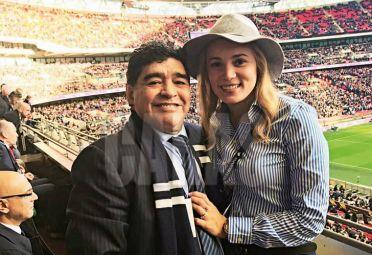 Maradona y Oliva.