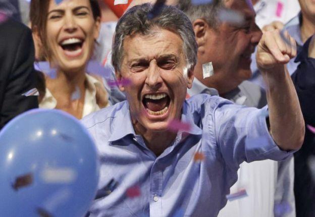 """""""¡¡Gracias muchachos por semejante alegría!! ¡¡¡Vamos Argentina!!!"""", escribió Macri en Twitter."""