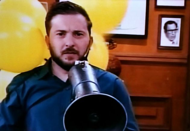 ¡Insólito! Diego Brancatelli a los gritos a favor de Macri