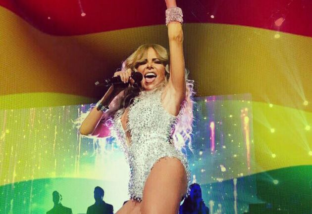 Jey Mammon emocionó a todos con su baile por la diversidad sexual
