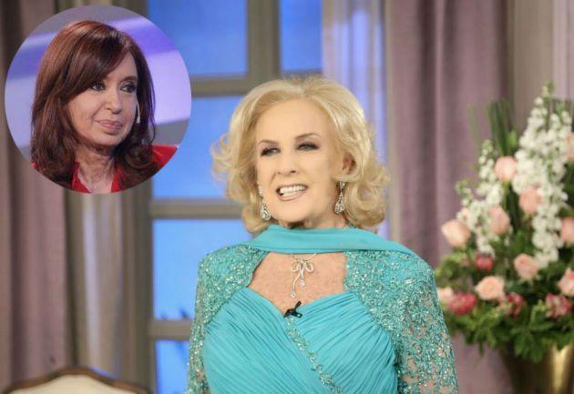 Mirtha Legrand cruzó a Cristina