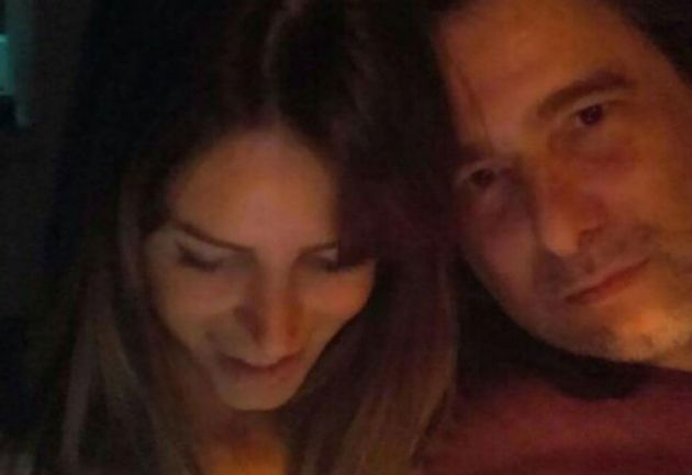 La foto de Marianela y Calamaro