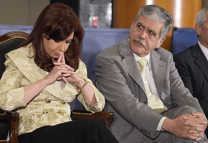 Cristina Fernández de Kirchner y Julio De Vido