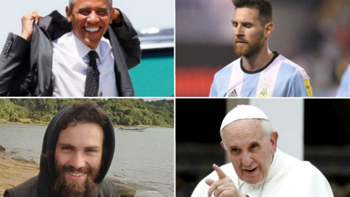 Obama, Pope Francis, Argentina soccer team and Santiago Maldonado, some of the main issues.