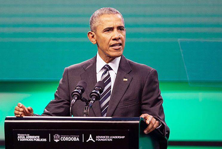 Cierre. Obama criticó la postura de Trump sobre el cambio climático. Con Juan Verde, uno de los anfitriones.